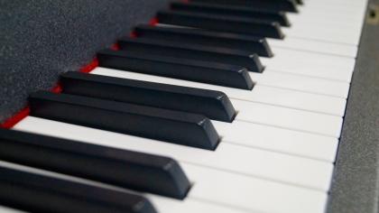 galerie startseite Klaviertasten