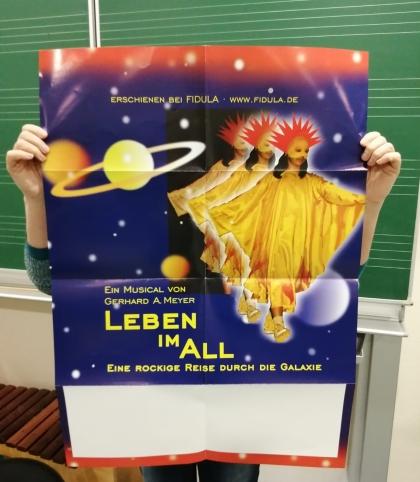 Plakat vom Fidula-Verlag